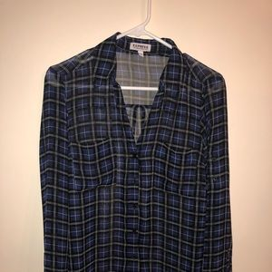 Express Button Up Long Sleeve